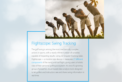 Wall Street Journal explaining how launch monitors like Flightscope's tracking radars transform courses