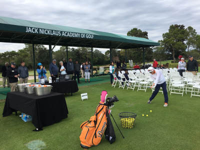 Photo of Jack Nicklaus Academy of Golf, another facility that uses Flightscope launch monitors