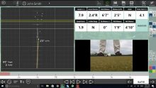 Video demonstrating the customizable interface of the Flightscope X3 launch monitor short game app