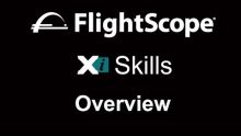 Video demonstrating how to use the Flightscope Skills app with the Flightscope launch monitor