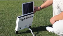 Video demonstrating how to use the Flightscope VX app with the Flightscope launch monitor