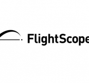Illustration showing Flightscope's logo