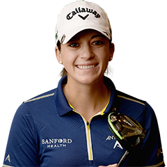 Featured Flightscope Tour Player Kim Kaufman