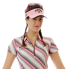 Featured Flightscope Tour Player Sandra Gal