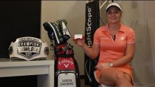 5x WLD Champion Sandra Carlborg talks about how Flightscope's Mevo launch monitor helps her in practicing for competitions