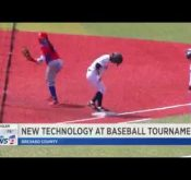 Flightscope's Strike portable baseball radar use at the Women's Baseball World Cup